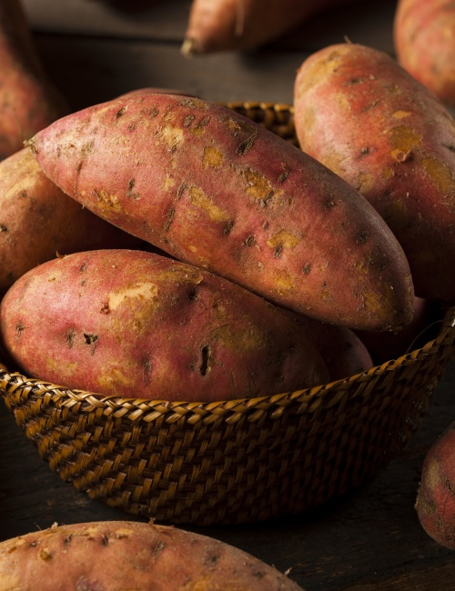 Organic Raw Sweet Potatoes