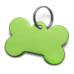 Green Dog Tag