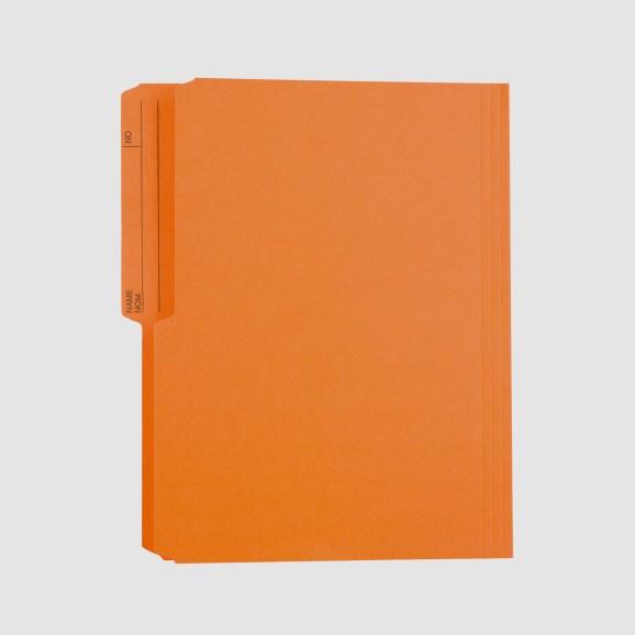 File folder orange