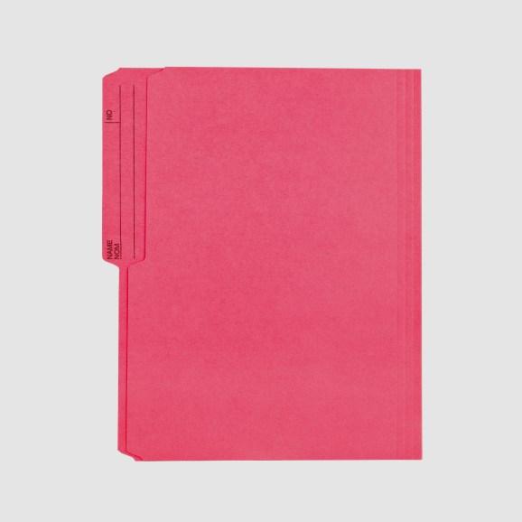 File folder pink